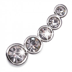 BIOJOUX BJT952 - Ear Cuff 5 Zircon Crystalls  15mm 0015369