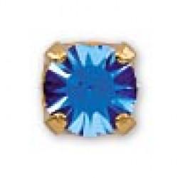 INVERNESS 89 - Ζαφείρι με δέσιμο 3mm - Επίχρυσο (Ζευγάρι) 0005769