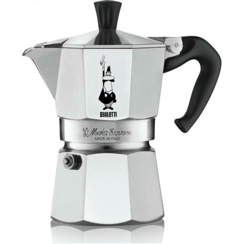 BIALETTI MOKA EXPRESS Καφετιέρα Espresso 4 Μερίδων - 0001164 0001938