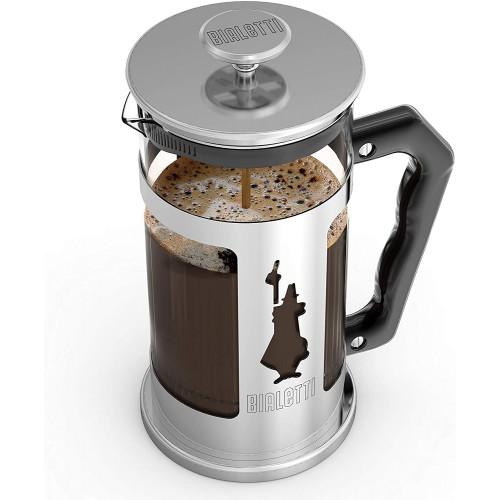 BIALETTI PREZIOSA Καφετιέρα Γαλλικού Χειροκίνητη (coffee press) 1000ml - (0003130/NW) 0021589