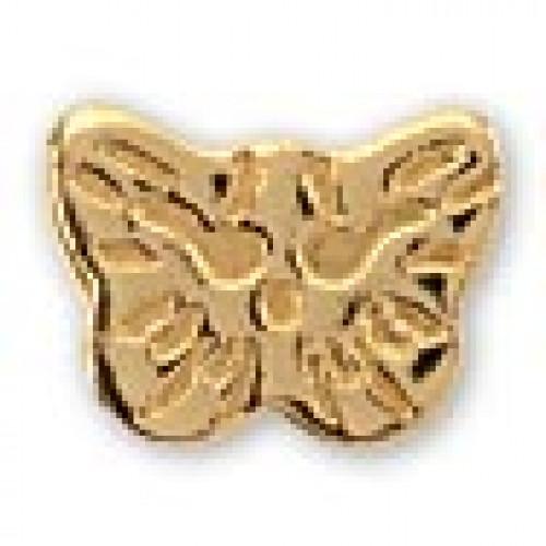 INVERNESS 60 - Πεταλούδα 5mm - Επίχρυσο (Ζευγάρι) 0005767