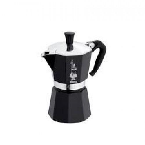BIALETTI 0004951 Moka Express Καφετιέρα Αλουμινίου 1 Μερίδας (Nera) 0026944
